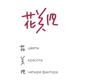 Расшифровка иероглифов